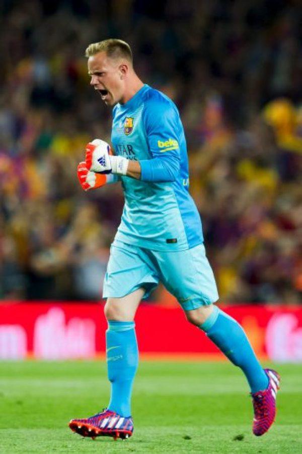 Y el único alemán en Berlín será Marc-Andre Ter Stegen, del Barcelona, quien ha disputado como titular todos los juegos de la presente Champions League. Foto:Getty Images