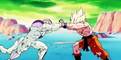 "2. La pelea de Gokú contra Freezer en ""Dragon Ball Z"". Foto:vía Shueisha"