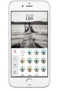 La app Tipyc es ideal para añadir letras a las fotos. Foto:Hi Mom S.A.S