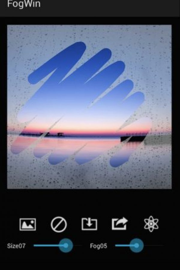 Funciona de la misma manera como si la foto fuera tomada con un cristal empañado por la lluvia. Foto:Kenichi Kobayashi / kobaken