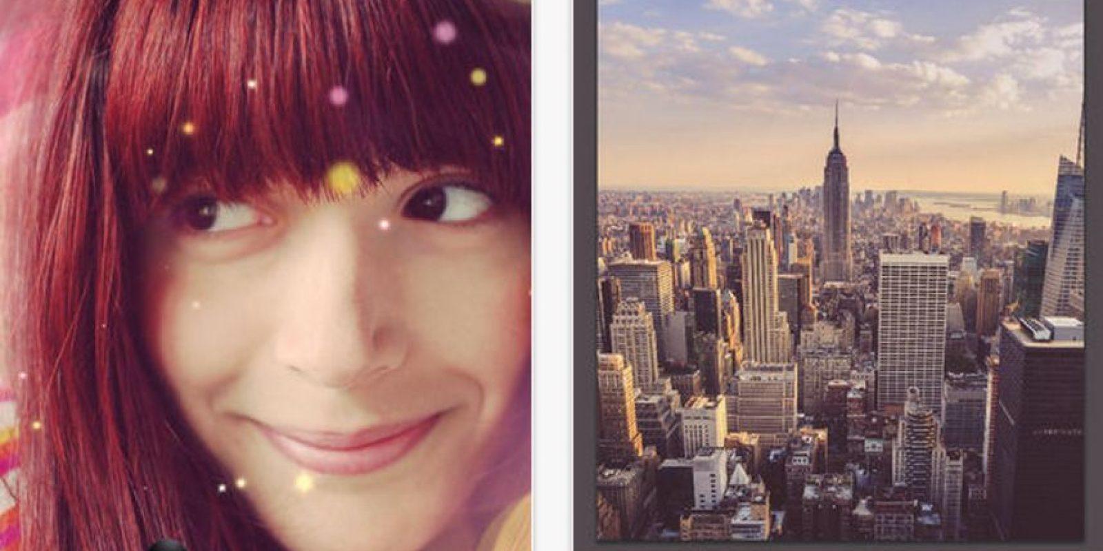 Repix es un editor de fotos que les permite agregar todo tipo de efectos artísticos a las imágenes. Foto:Sumoing Ltd