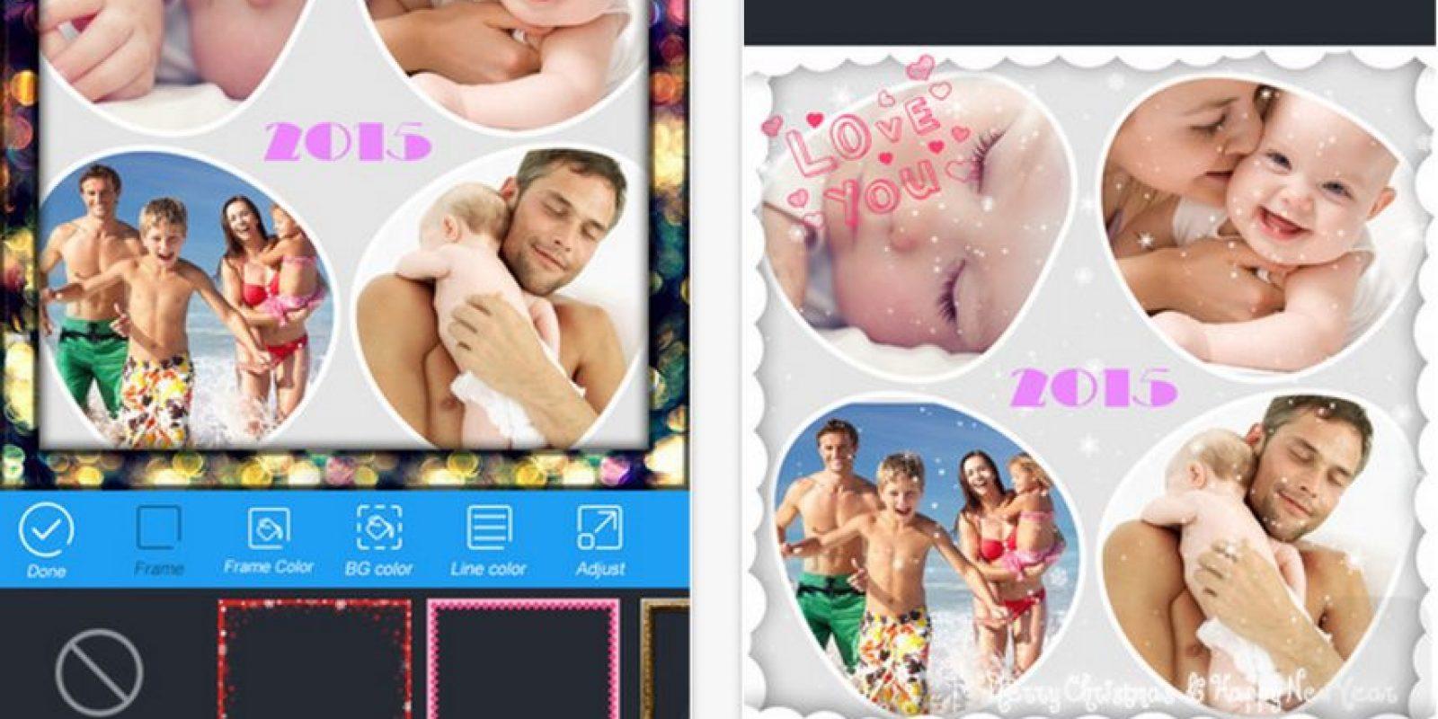 InstaCollage les ayudará a crear collages de manera muy sencilla. Foto:click2mobile