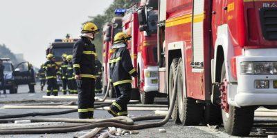 Otras 35 personas quedaron heridas. Foto:Getty Images