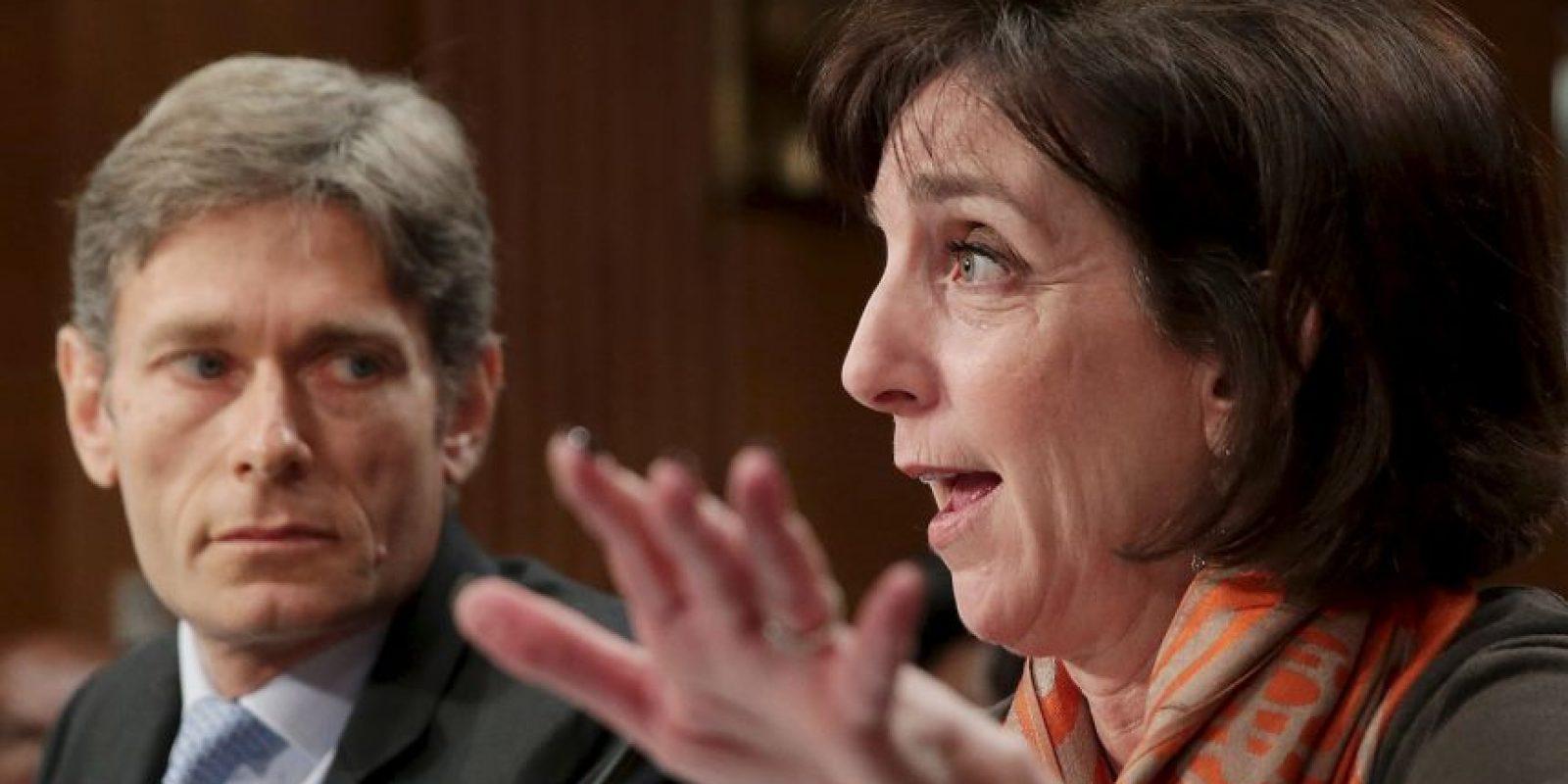 4. Juramentó como Secretaria de Estado Adjunto para Asuntos del Hemisferio Occidental, el 30 de marzo de 2012. Foto:Getty Images