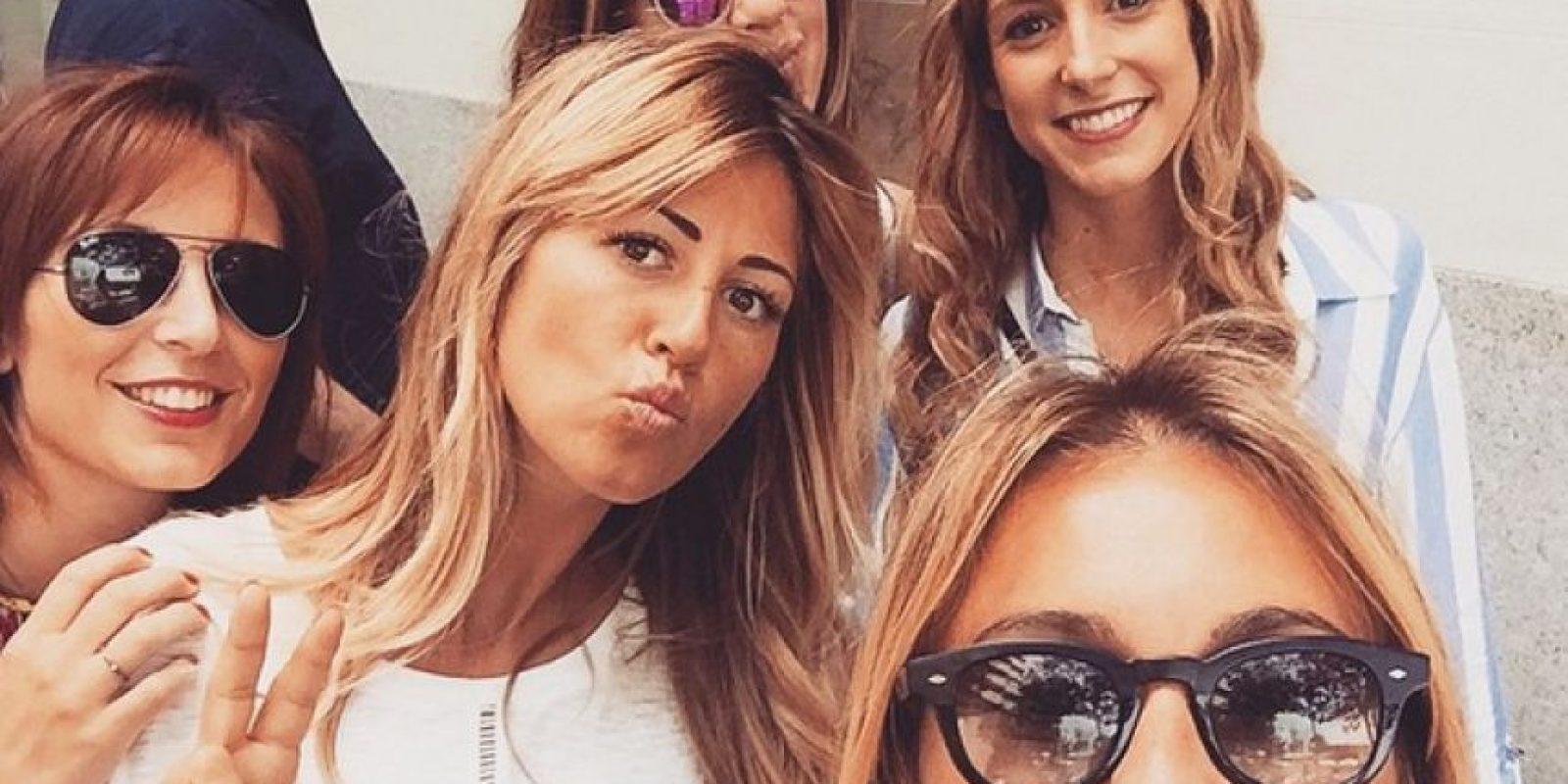 Verónica Zimbaro (esposa de Marco Storari), Roberta Sinopoli (Esposa de Claudio Marchisio) y otras WAG's de la Juventus. Foto:Vía instagram.com/veronicazimbaro