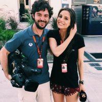 """La novia de """"Chicharito"""", Lucía Villalón es periodista de Fórmula 1. Foto:Vía instagram.com/lucia_villalon"""