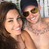 Yolanthe Cabau, esposa de Wesley Sneijder. Foto:Vía instagram.com/yolanthecabau