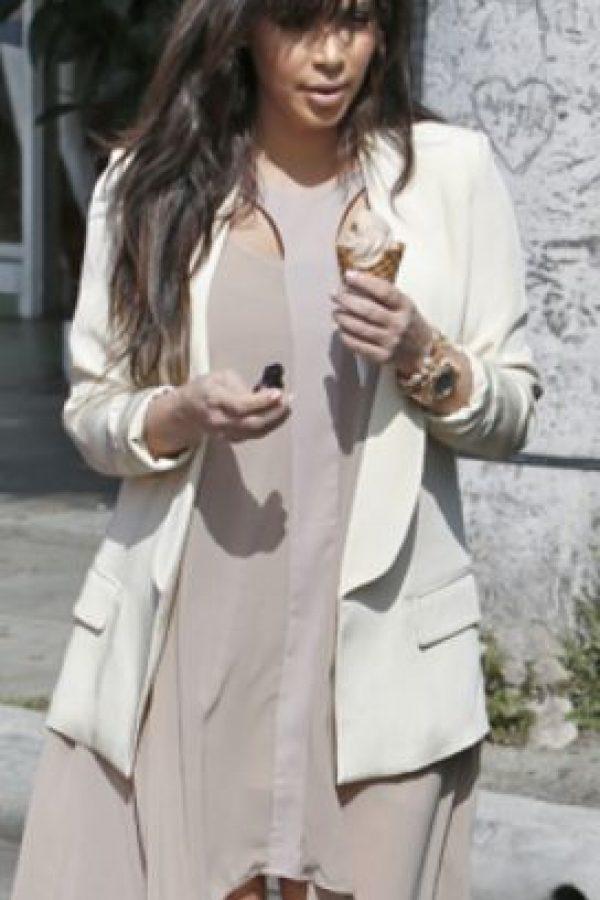 Un gran helado andante. Foto:vía Getty Images