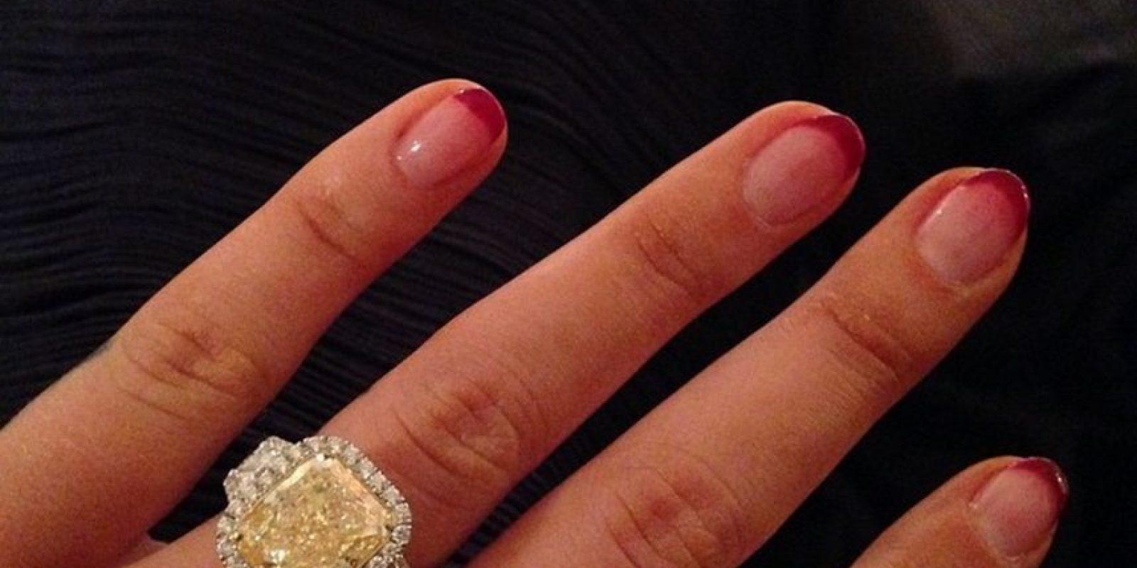 Este es su anillo de compromiso Foto:Vía instagram.com/thenewclassic/
