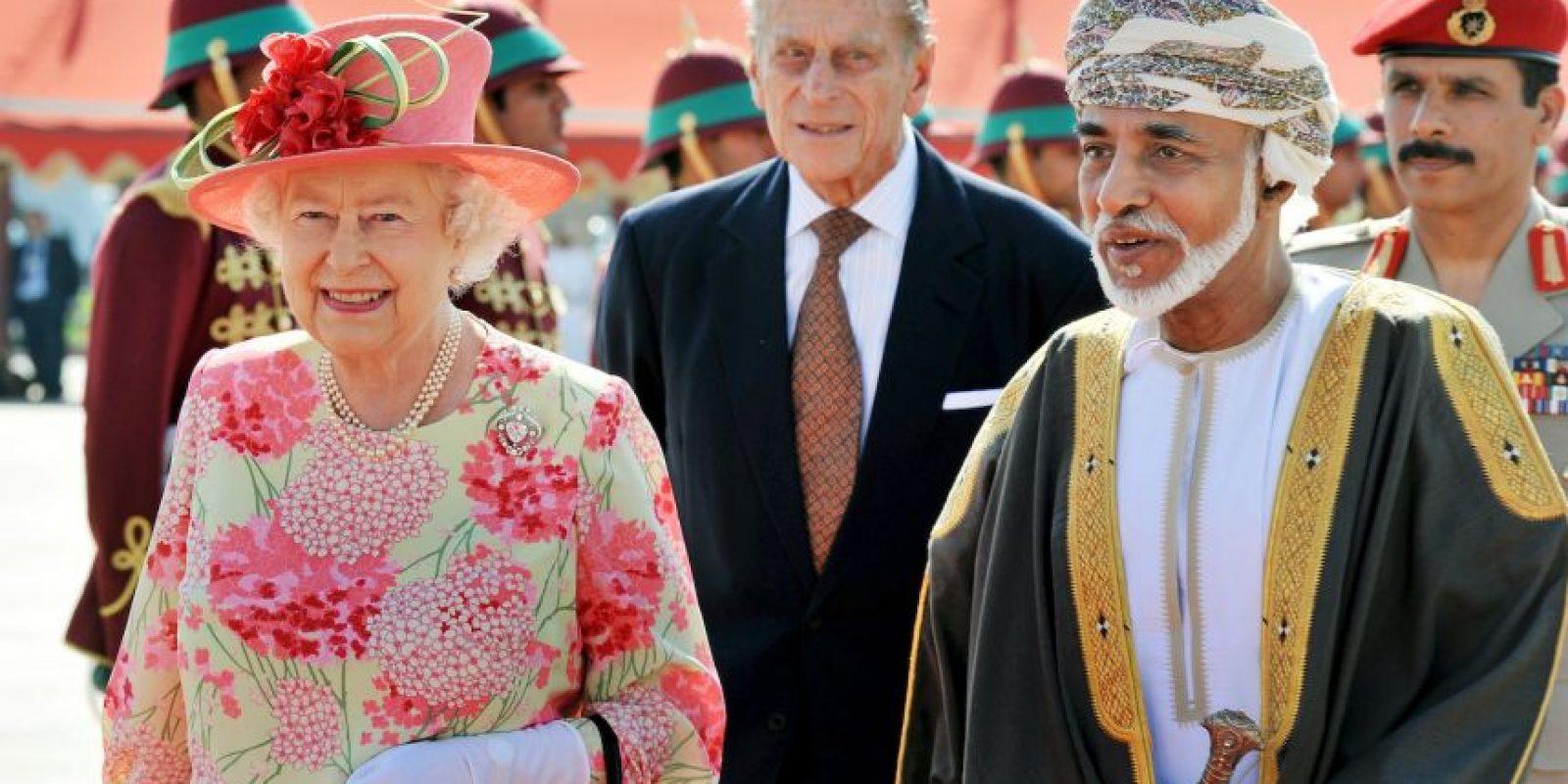 10. Qaboos bin said al Said, Sultán de Oman Foto:Getty Images