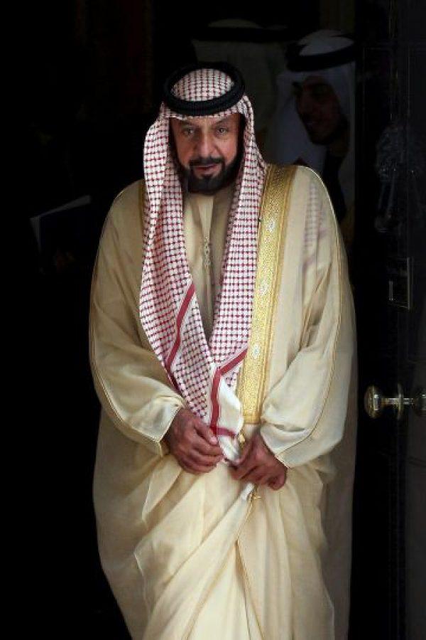 4. Khalifa bin Zayed al Nahyan, emir de Abu Dhabi Foto:Getty Images