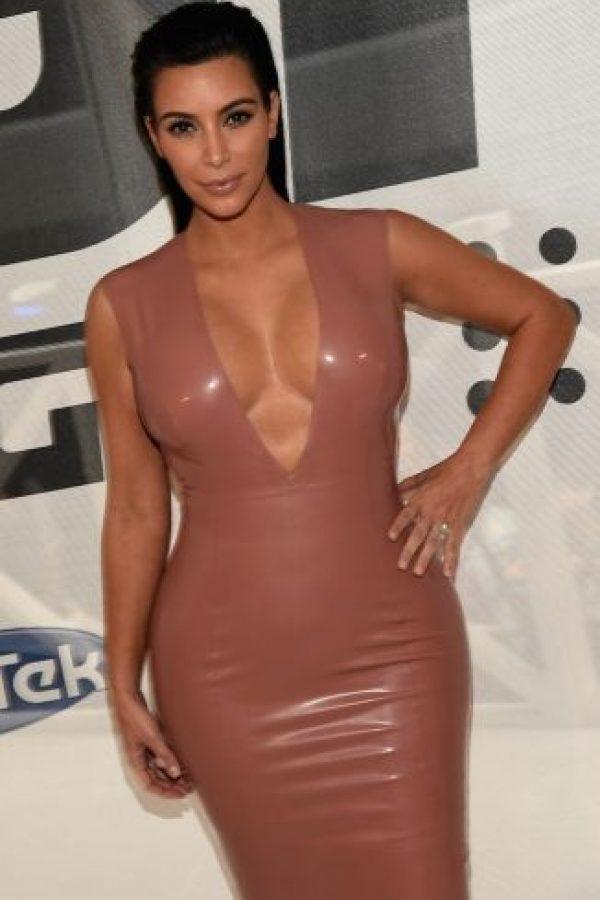 Su talla de sostén es 36-D Foto:Getty Images