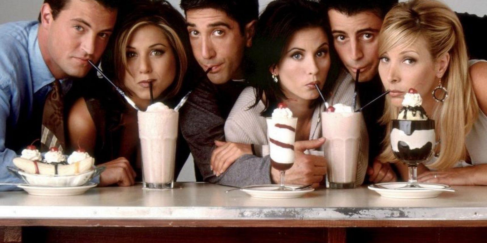 Friends – Temporadas 1 a 5 ya disponibles. Foto:NBC