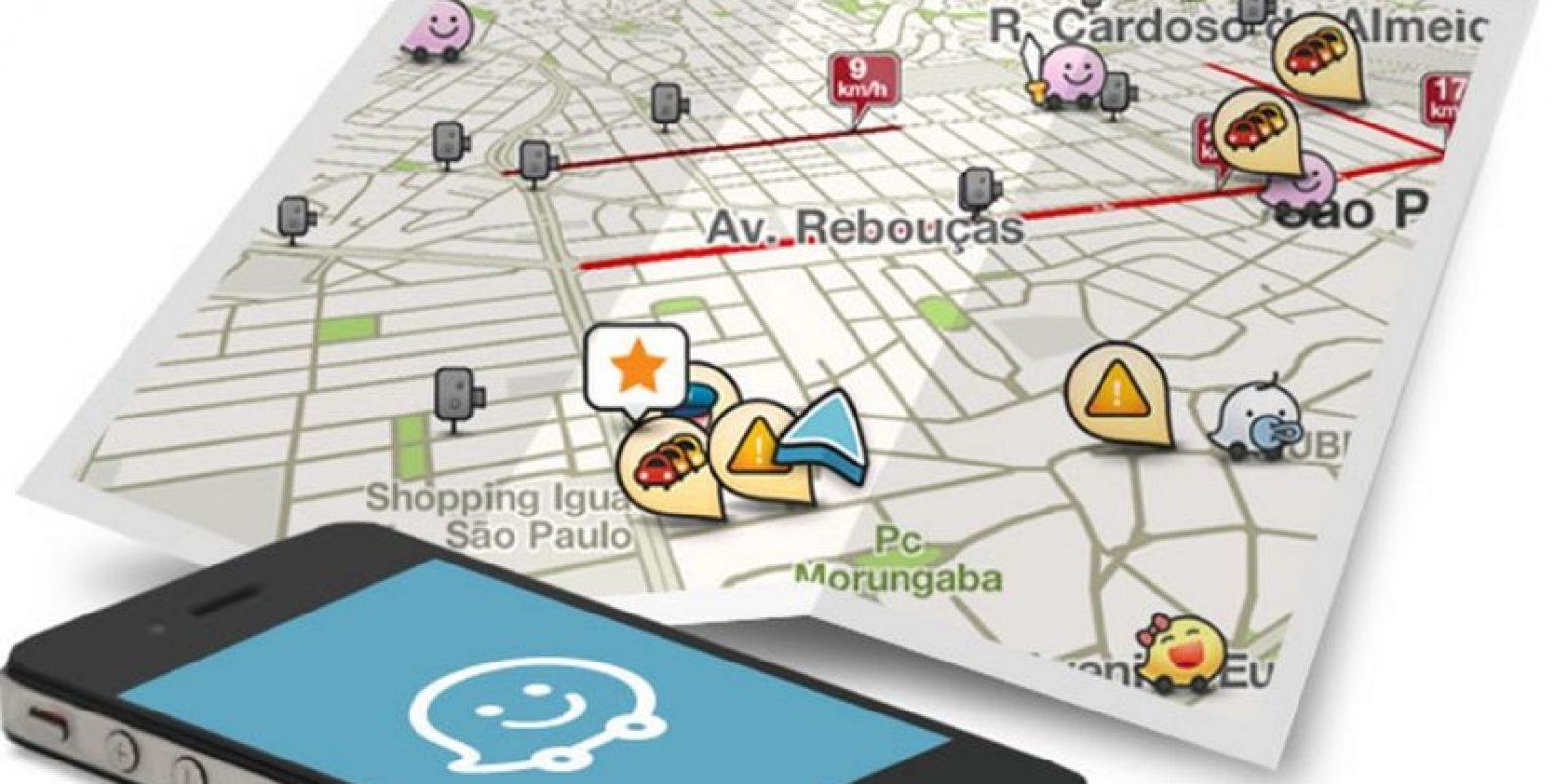 Waze puede ser su mejor compañía mientras se encuentran conduciendo. Foto:Waze