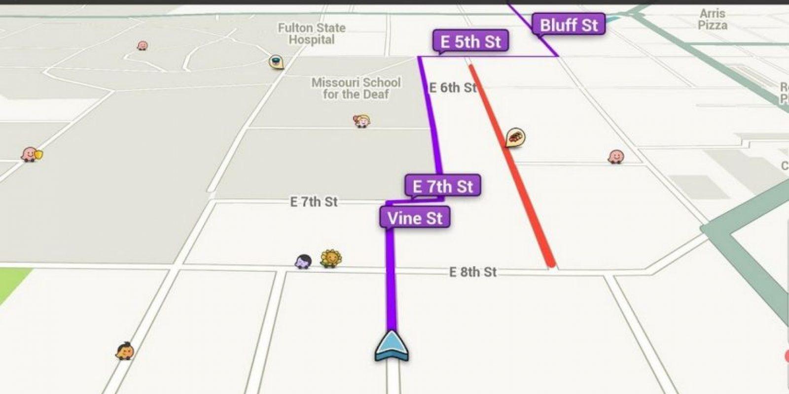 ETA (Estimed Time of Arrival) les permite calcular el tiempo estimado en que arribarán a su destino. Desde su PC también lo pueden hacer yendo al livemap, añadiendo su ubicación y su destino. Foto:Waze