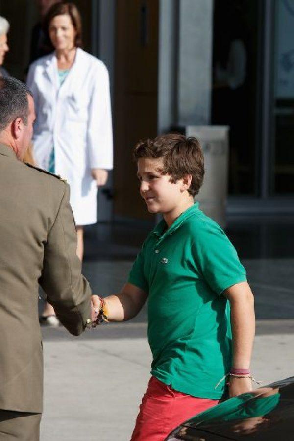 3. Es el cuarto en la línea de sucesión por la corona española. Foto:Getty Images