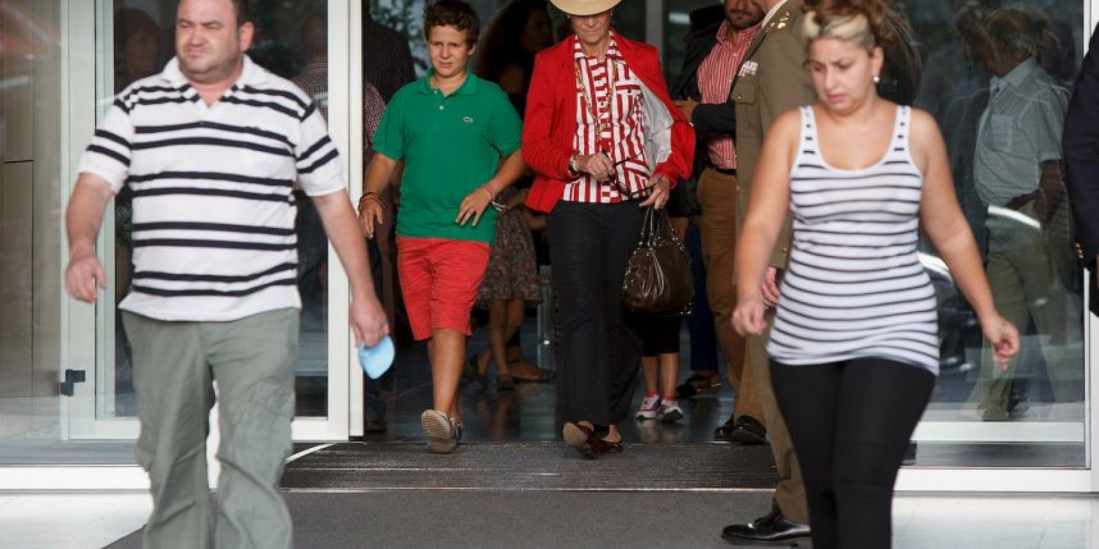 """4. Según el periódico argentino """"El Clarín"""", en la boda de los ahora reyes Felipe VI y Letizia Froilán pateó a una de las niñas damas. Foto:Getty Images"""