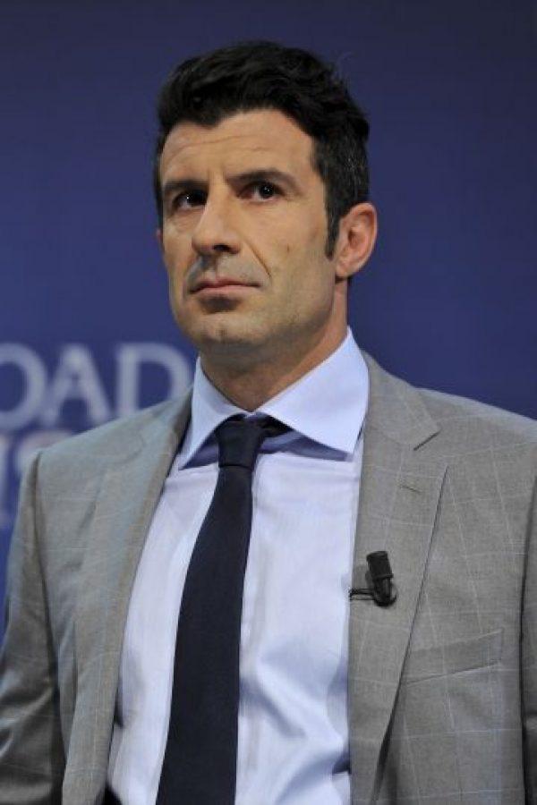 Luis Figo (Barcelona) Foto:Getty Images