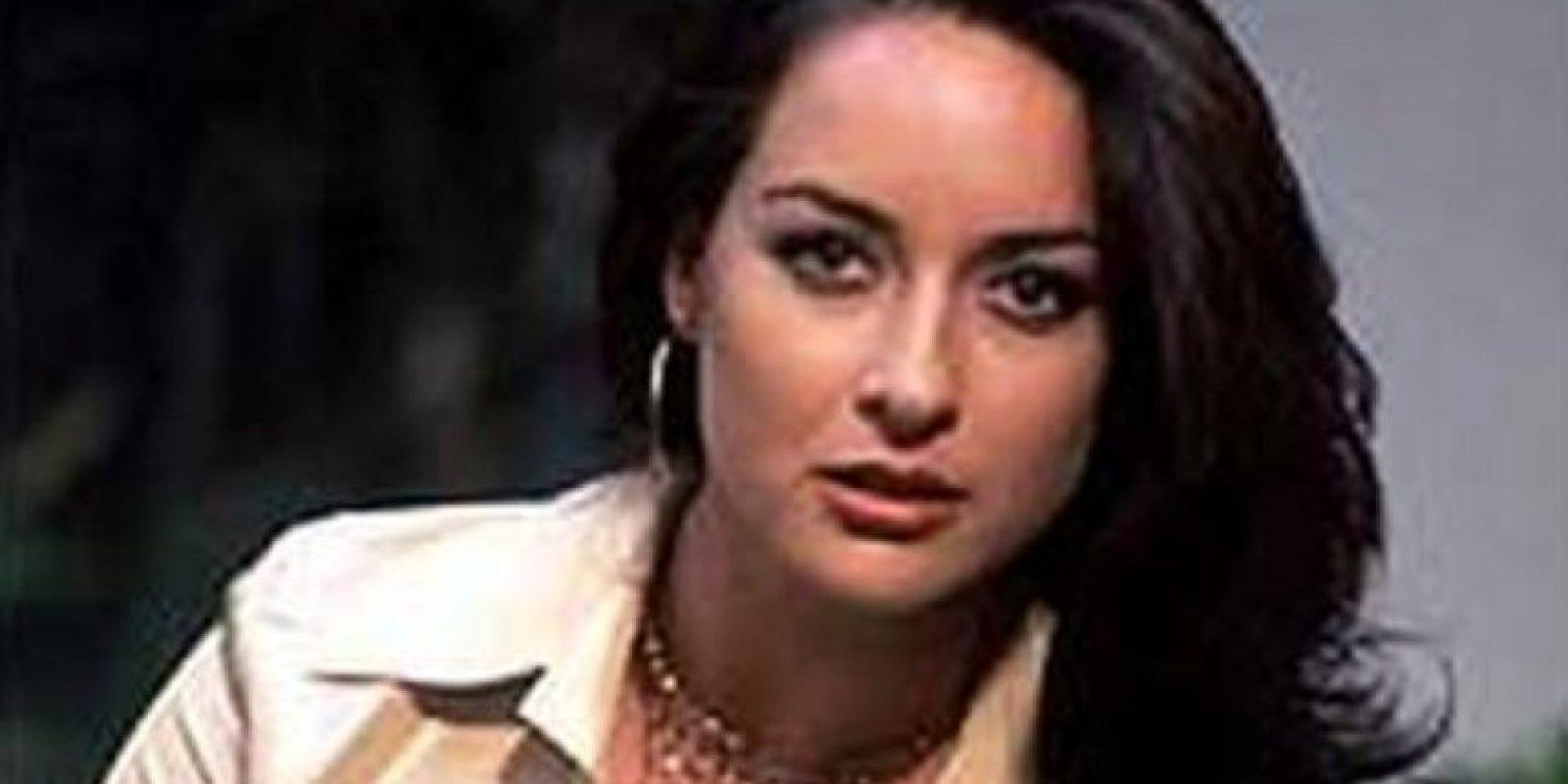 """Susana González era """"Angélica Riveira"""", que termina asesinada por """"Roxana"""" Foto:vía Canal de las Estrellas"""