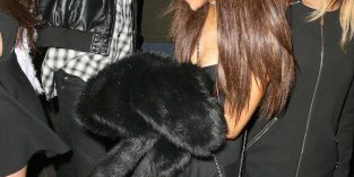 Ariana Grande se fue de fiesta con Niall Horan