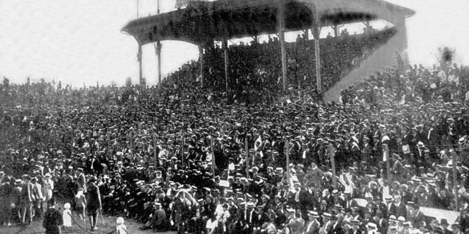 En el Estadio del Club Sportivo Barracas. Foto:Wikimedia