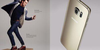 La cámara frontal es de 5 megapixeles. Foto:Samsung