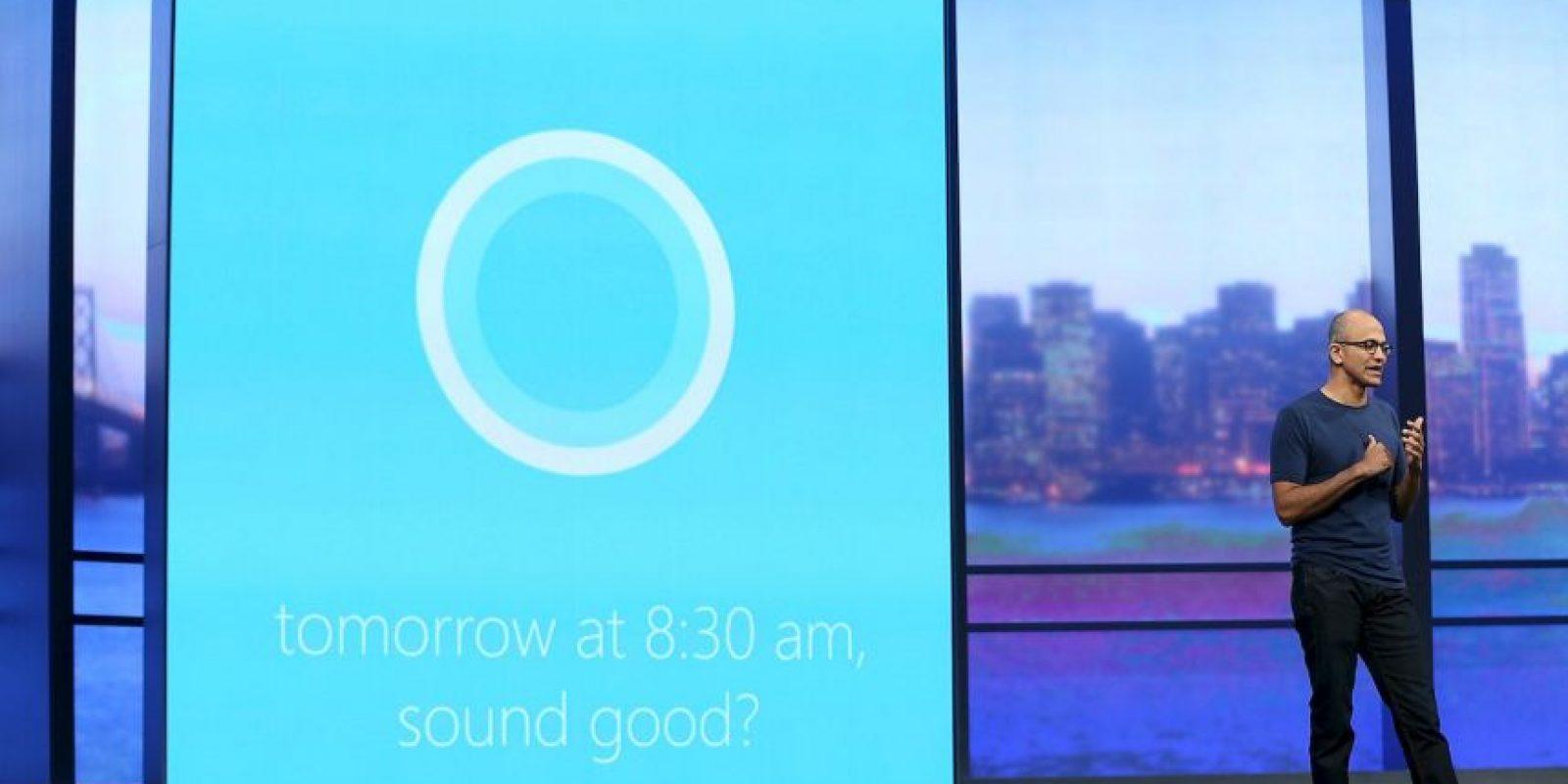 Cortana, la auxiliar de voz de Microsoft, también competirá con Hound Foto:Getty Images