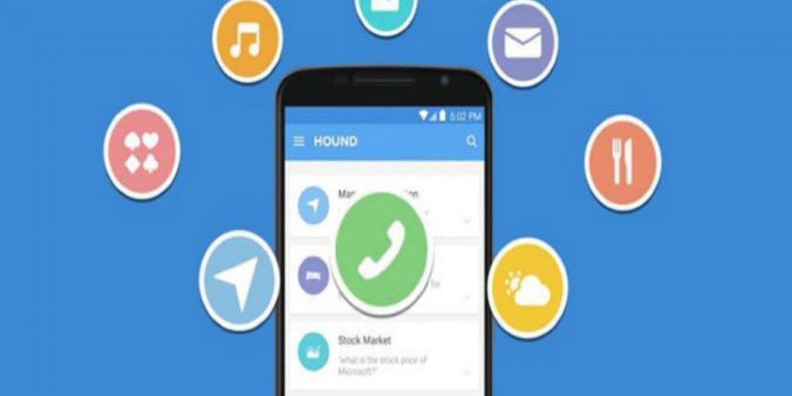 Hound Beta pretende quitarle el lugar a Siri de Apple y Cortana de Microsoft como el mejor asistente para móviles Foto:SoundHound Inc.