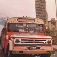 Quien no recuerda estos buses. Foto:Fabeook / Fotos Antiguas Bogotá