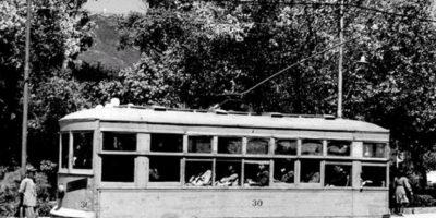 El popular Tranvía que circuló por las calles de Bogotá hasta 1951. Foto:Fabeook / Fotos Antiguas Bogotá
