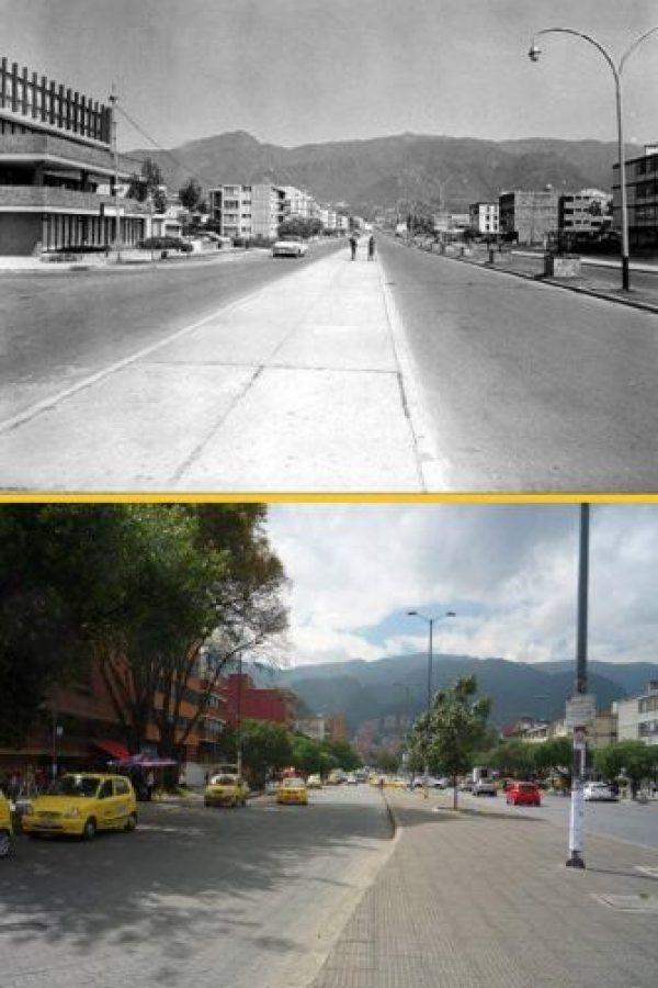 El cambio que ha sufrido la calle 85 a través de los años. Foto:Fabeook / Fotos Antiguas Bogotá