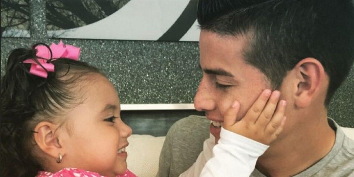 FOTOS: Inmenso y tierno regalo de James a su hija Salomé