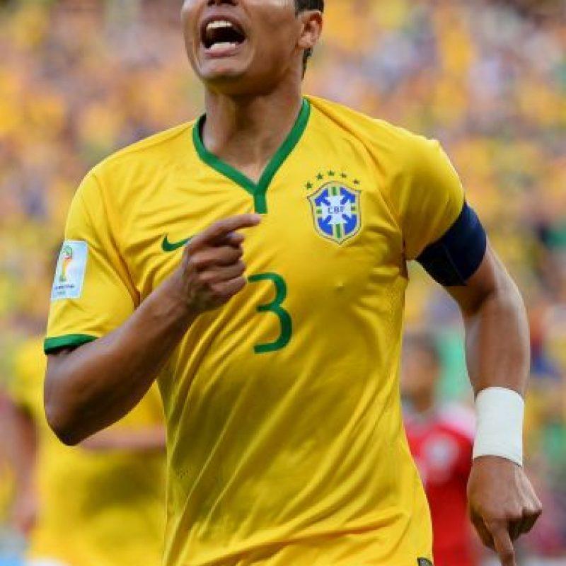 DEFENSAS: Thiago Silva (Brasil) Foto:Getty Images