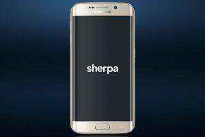 Recientemente Samsung anunció que añadiría a Sher.pa, un programa de asistente personal, a sus teléfonos de gama alta Foto:Sher.pa