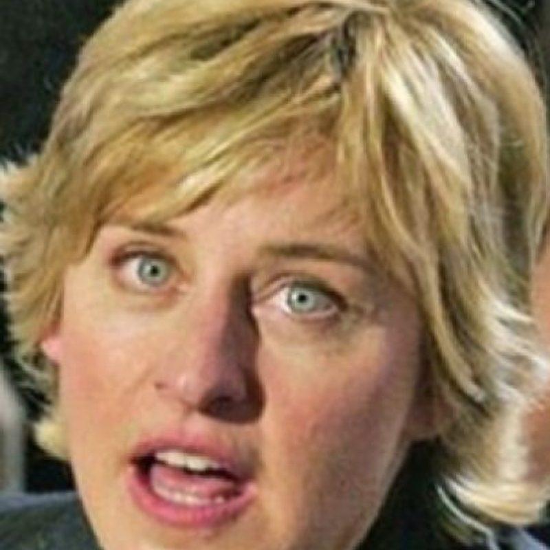 Ellen DeGeneres también tiene su doble. Foto:vía Getty Images