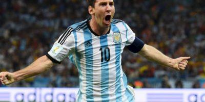 Sus figuras: Lionel Messi (Barcelona) Foto:Getty Images