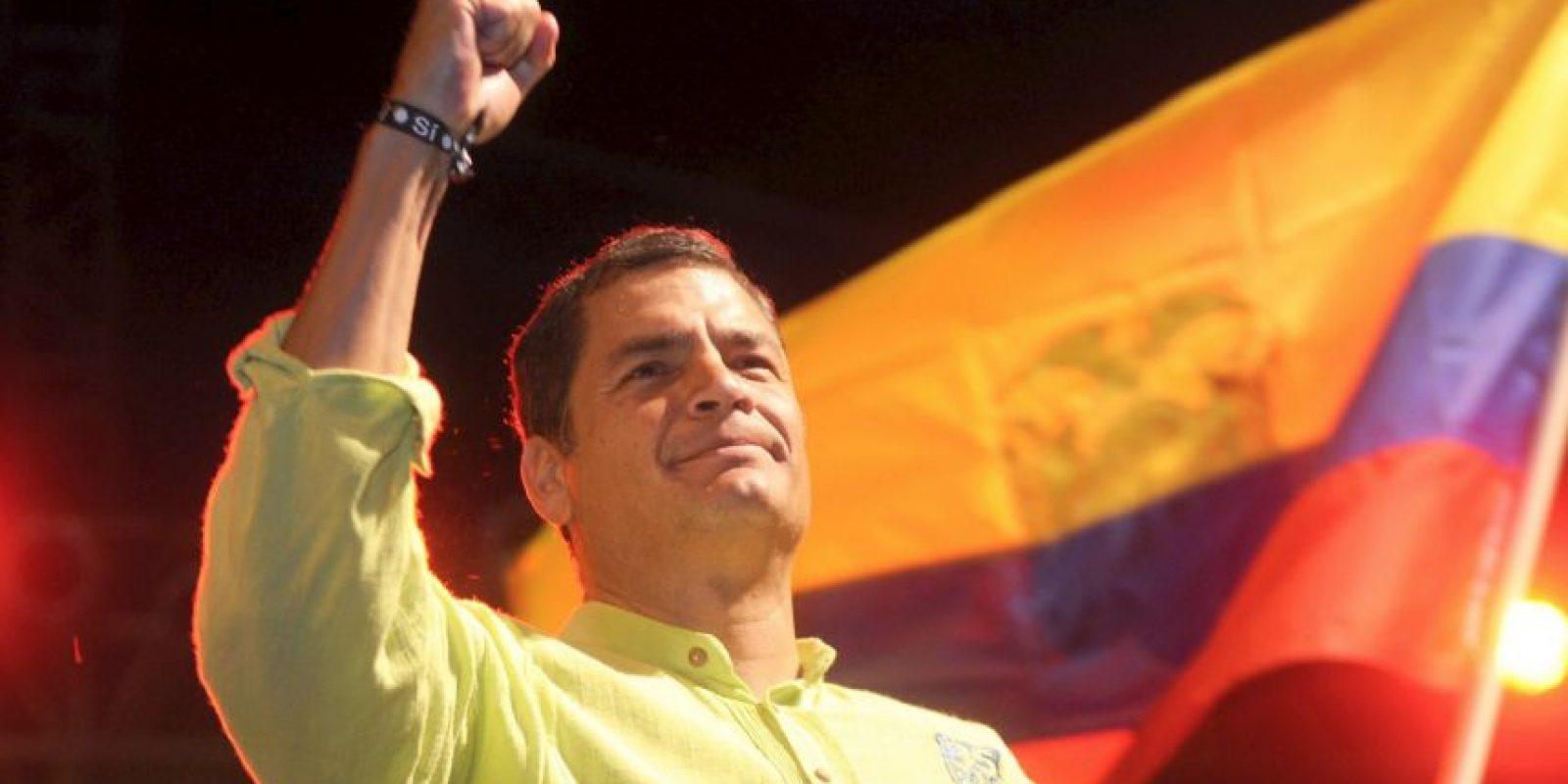 Y por último, el presidente ecuatoriano, Rafael Correa, puede optar por su reelección. Foto:Vía facebook.com/MashiRafael