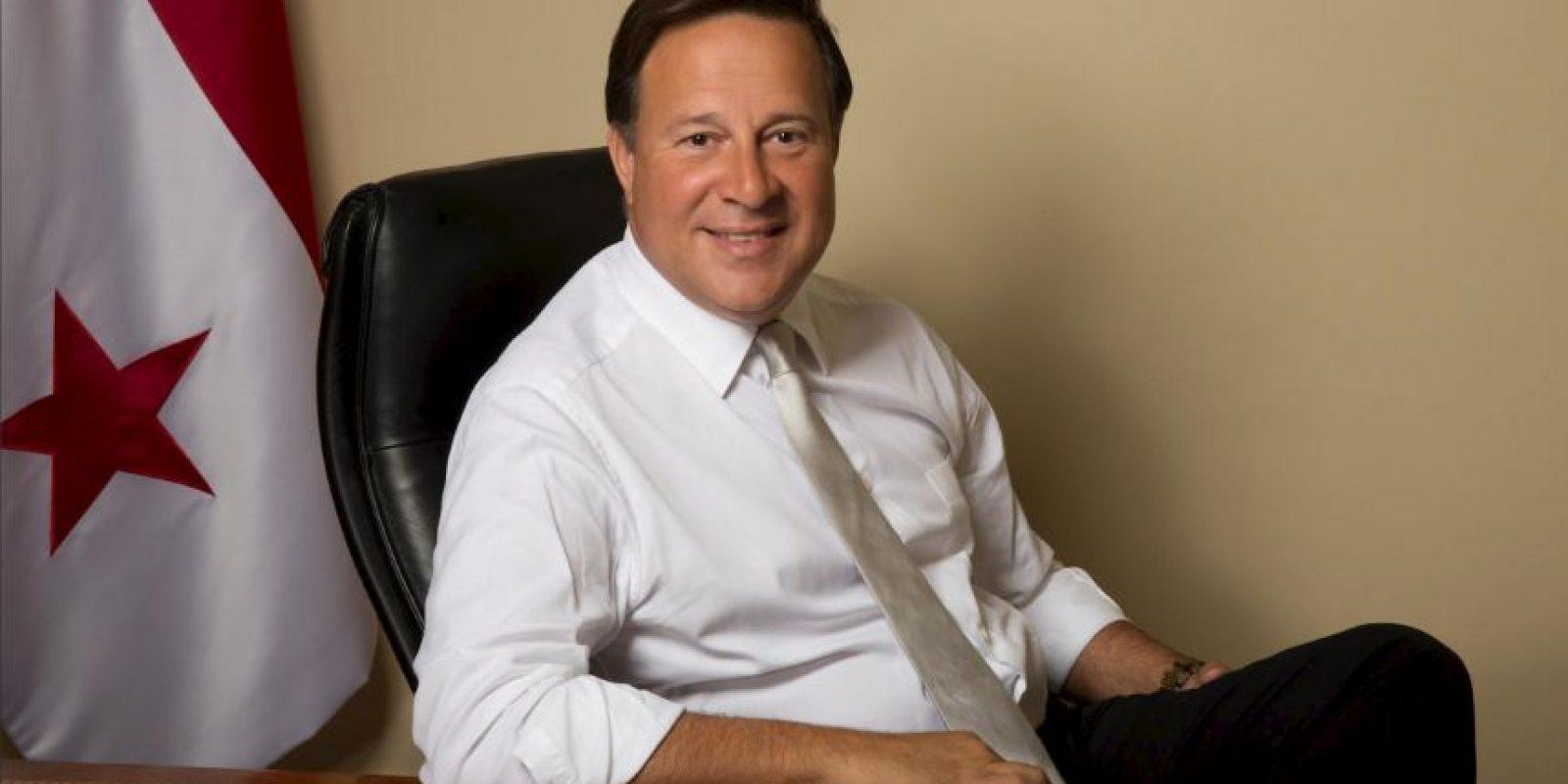 Otro en el mismo caso es Juan Carlos Varela, mandatario de Panamá. Foto:Vía facebook.com/PresidenciadePanama