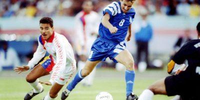 Estados Unidos también fue de los primeros invitados de la Conmebol a la Copa América. Debutó en Ecuador 1993, en donde le fue muy mal ya que sólo consiguió un punto y volvió a casa en la primera ronda. Foto:Getty Images