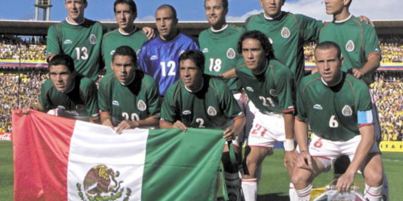 1. MÉXICO Foto:AFP