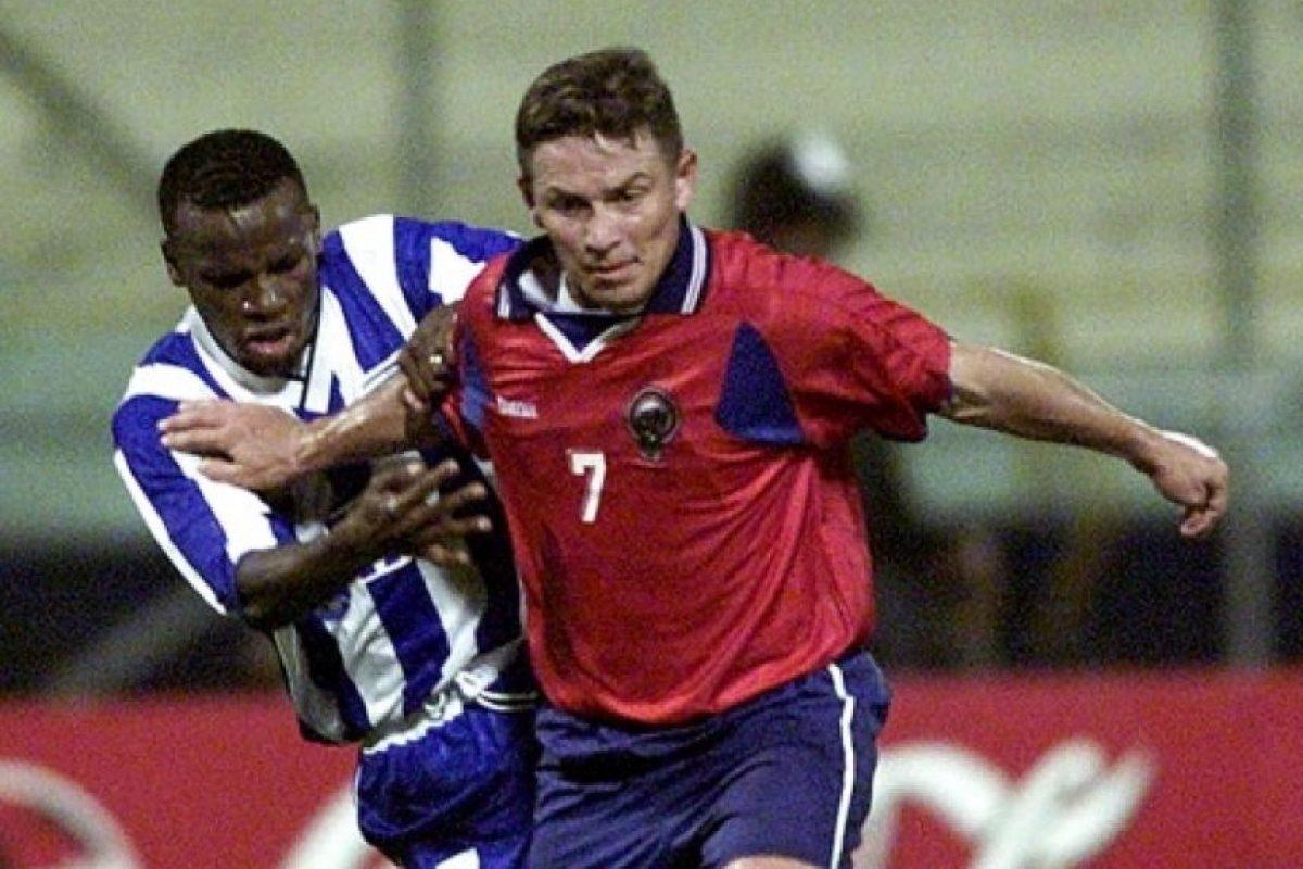 Volvieron en Colombia 2001 y aquí dejaron un buen sabor de boca al pasar a cuartos de final, donde cayeron ante Uruguay. Foto:AFP