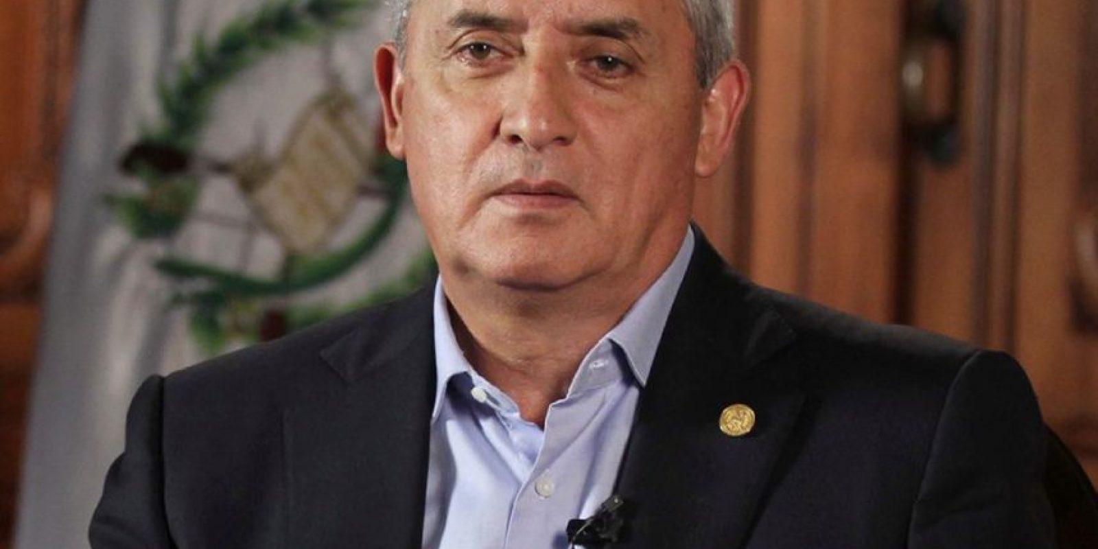 Otto Pérez Molina, presidente de Guatemala. Foto:Vía facebook.com/ottoperezpp