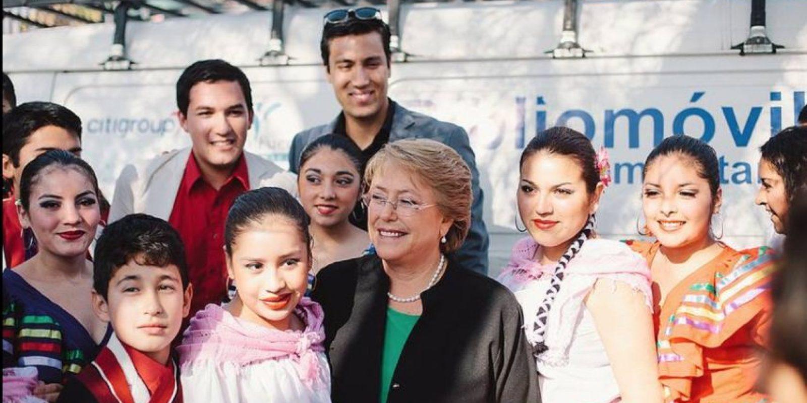 Foto:Vía facebook.com/MichelleBacheletPresidenta