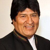Es el mismo caso para su homónimo Evo Morales Ayma en Bolivia. Foto:Vía facebook.com/pages/Evo-Morales