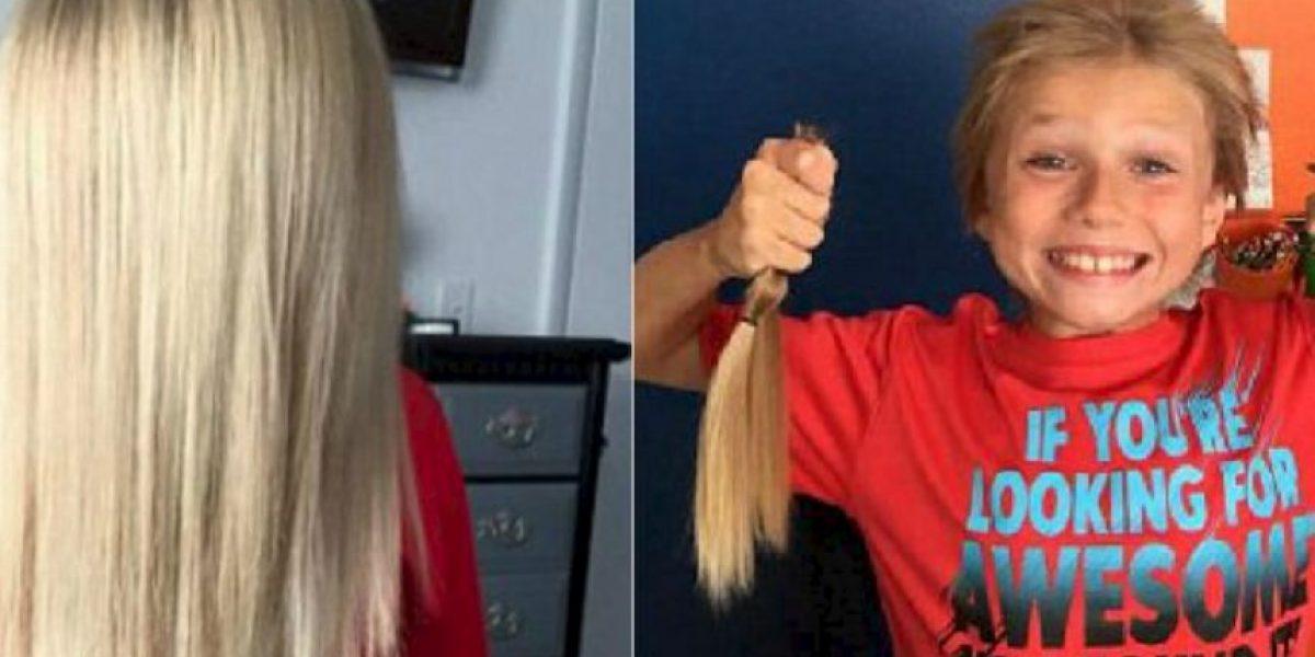FOTOS: Se burlaron de él por dejar crecer su cabello y lo que hizo fue inspirador