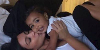 La primogénita de Kim cumplirá 2 años Foto:Vía instagram/KimKardashian