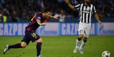 Lionel Messi. No brilló como en otras actuaciones, pero hizo la jugada para el tercer gol Foto:Getty Images