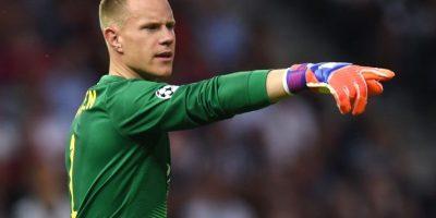 Ter Stegen. Evitó tres opciones claras de gol de Juventus Foto:Getty Images