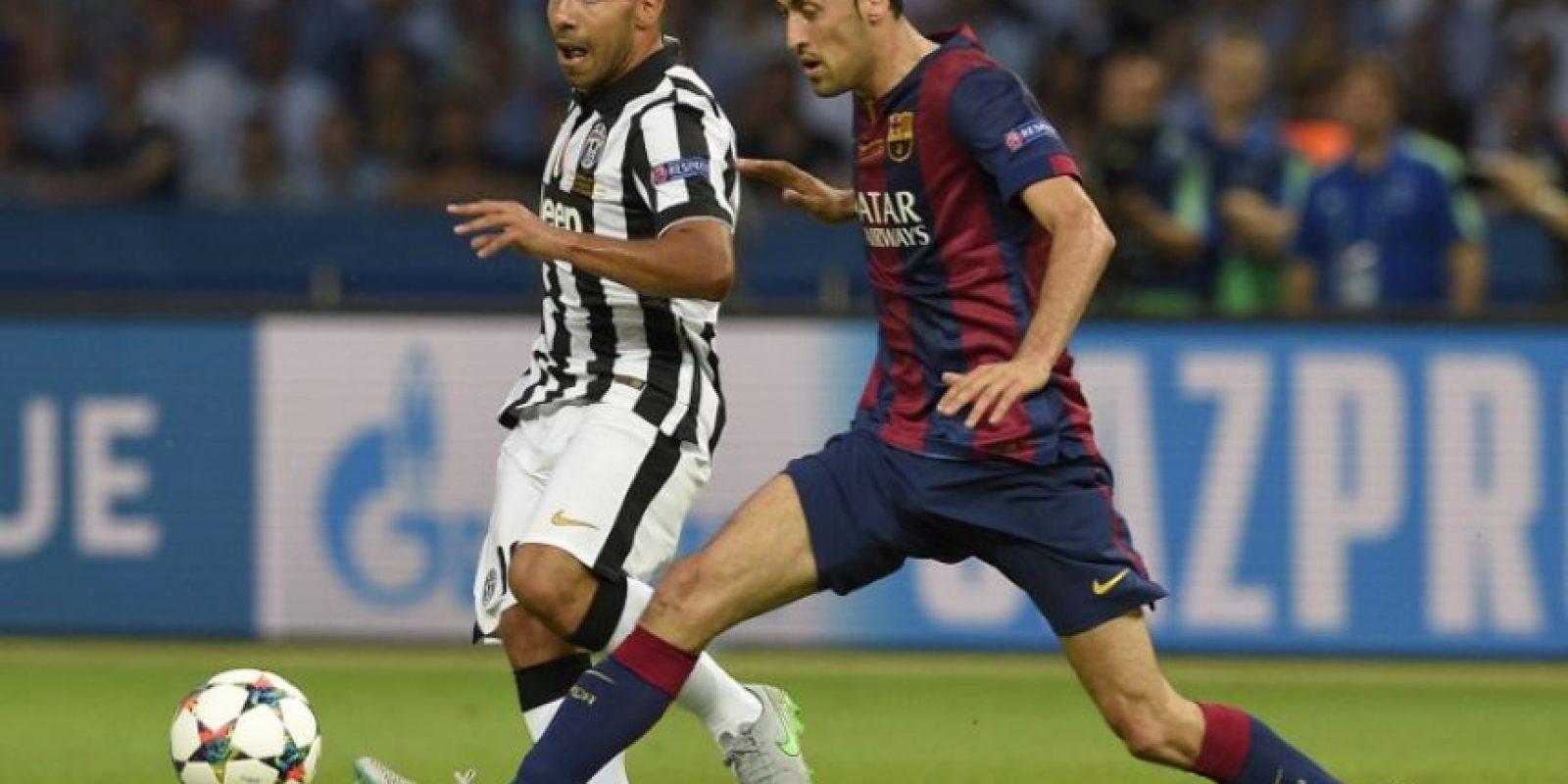 Sergio Busquets. Una actuación decente a la defensiva y ofensiva Foto:Getty Images
