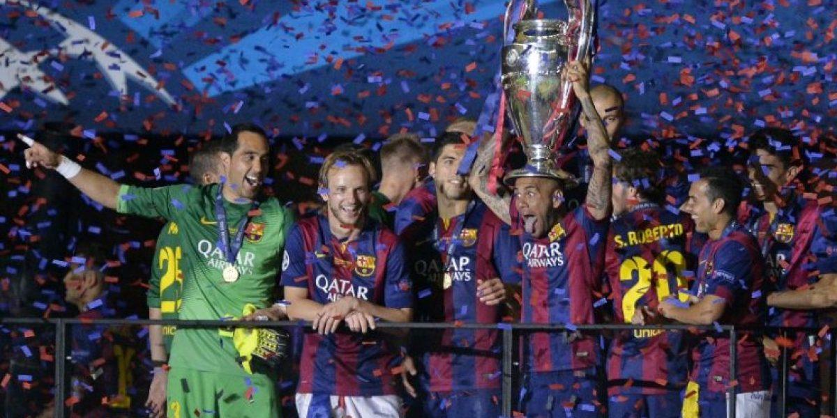 FOTOS: Así celebró Barcelona su segundo triplete de la historia